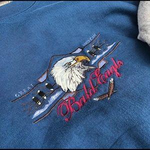 SUPER COZY Vintage Eagle Crewneck XXL